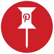 Symbol portalu Pinterest.
